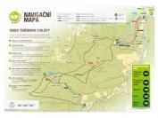 Mapa tratí Bike aréna Vsetín
