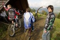 WBS měřený trénink v Bikeparku Kyčerka