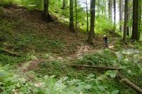 Dny horské cyklistiky 2014, vyjížďka Portáš - Púchov přes Marikovský singláč